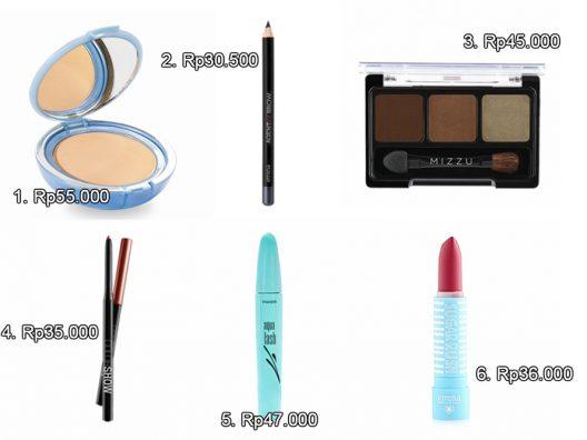 rangkaian makeup