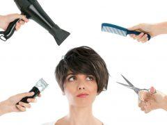 3 cara menata rambut pendek