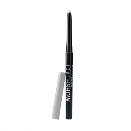 MAYBELLINE Color Show Metal Eye Liner - Icy Silver (Beli di Sociolla)
