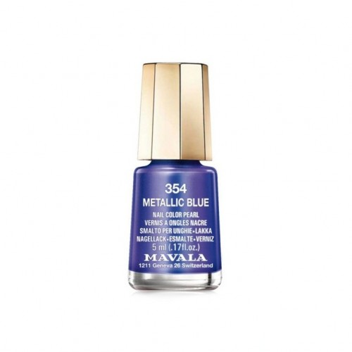 Mavala Nail Polish Metallic Blue no 54 (Beli di Beautylink)