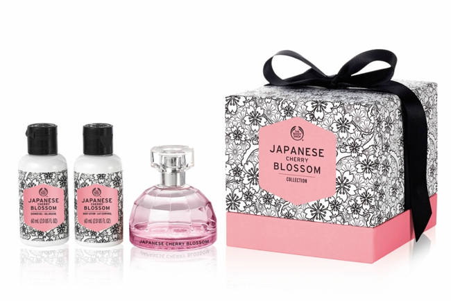 The Body Shop Japanese Cherry Blossom Medium Gift Set