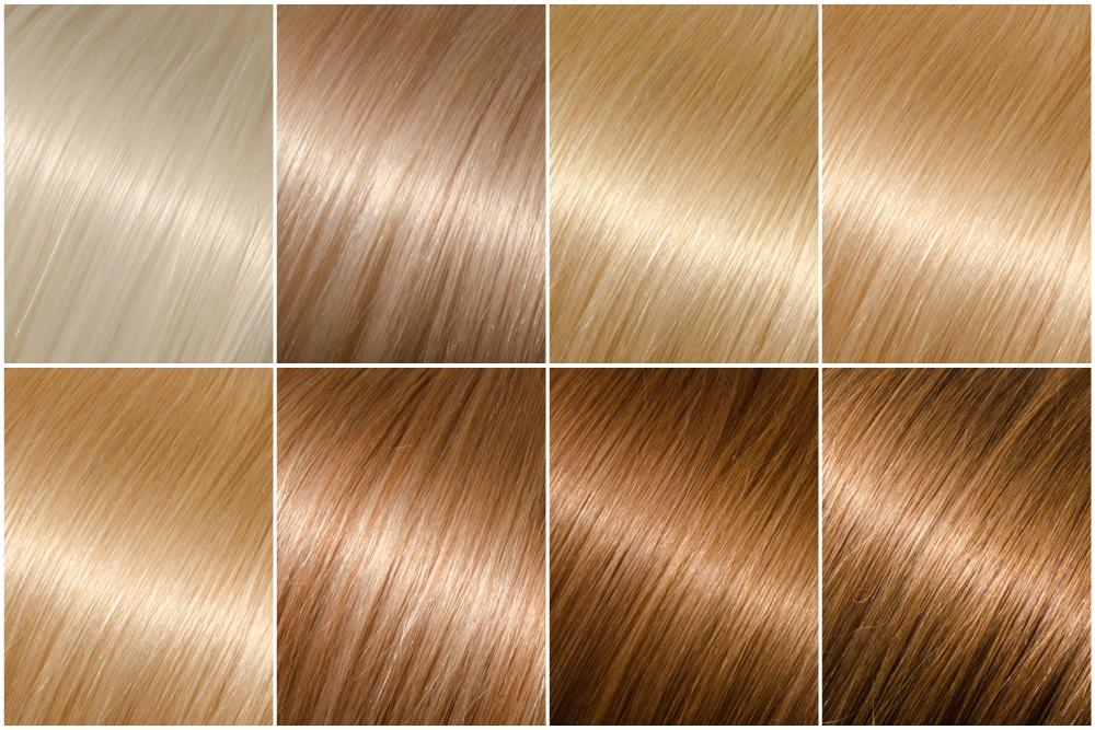 Memilih Warna Rambut Pirang Sesuai Warna Kulit