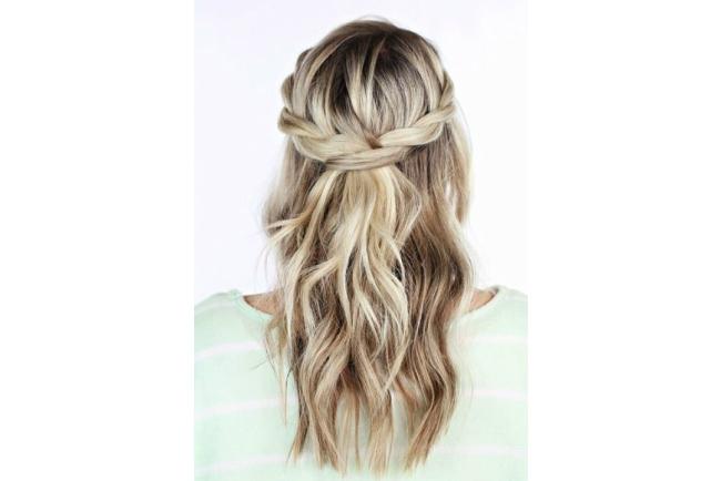 Foto Rambut Kepang | tutorial gaya manis dengan rambut
