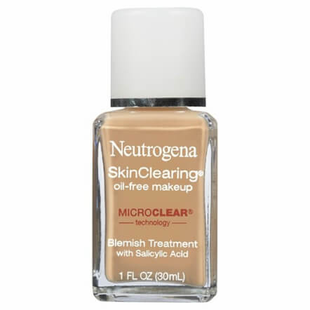 neutrogena liquid foundation oily