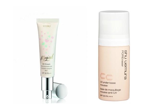 BB Cream atau CC Cream - CC Cream Beauty Story, Shu Uemura