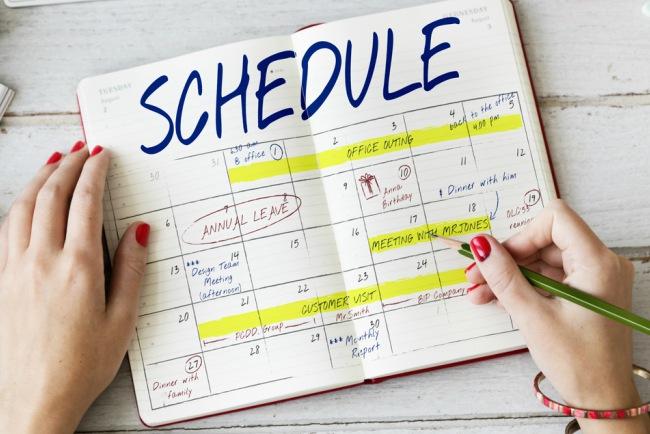 Kebiasaan Menunda Pekerjaan - Atur Jadwal