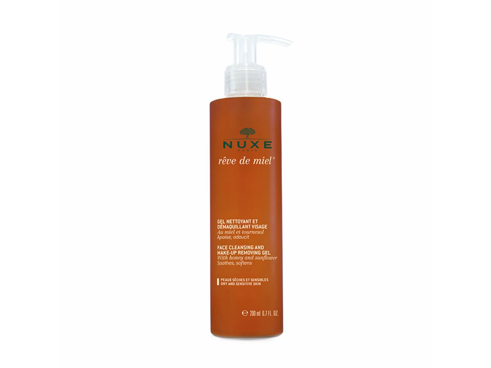 Nuxe Rêve de Miel Face Cleansing and Make-Up Removing Gel