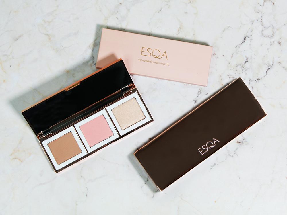 ESQA The Goddess Cheek Palette