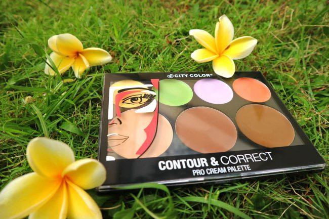 review city color contour and correct palette cream
