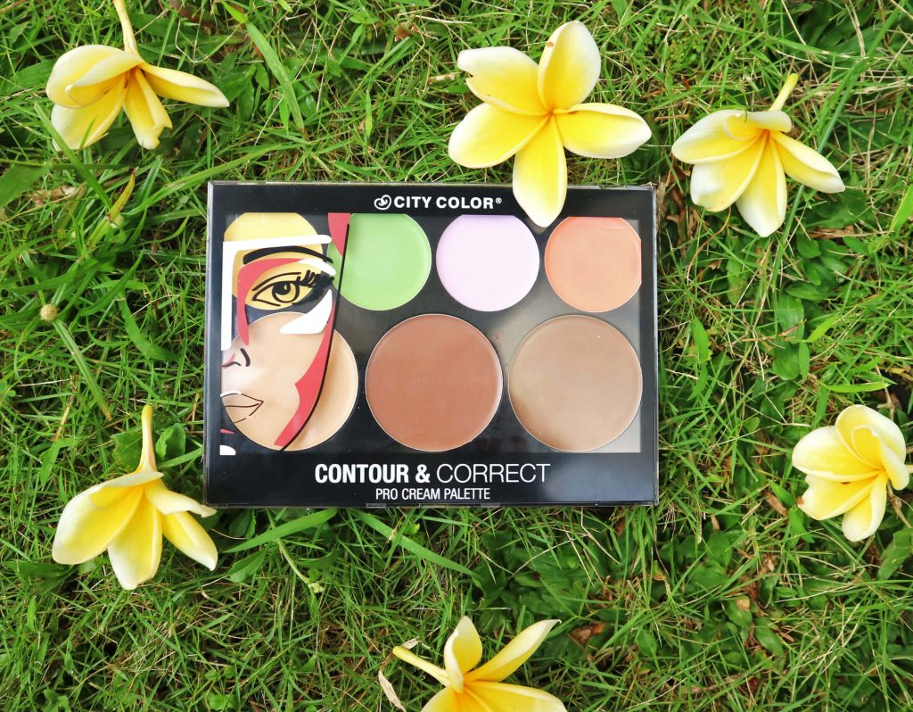 review city color contour and correct palette cream