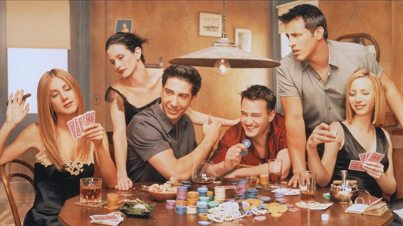 "Sitkom ""Friends"" Karakter Kuat"