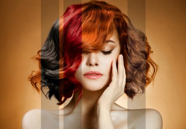 Bentuk Tubuh Wanita Warna Rambut