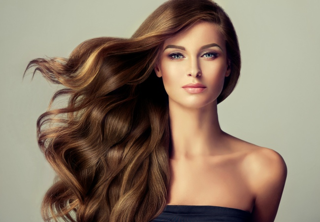 Bentuk Tubuh Wanita Panjang Rambut