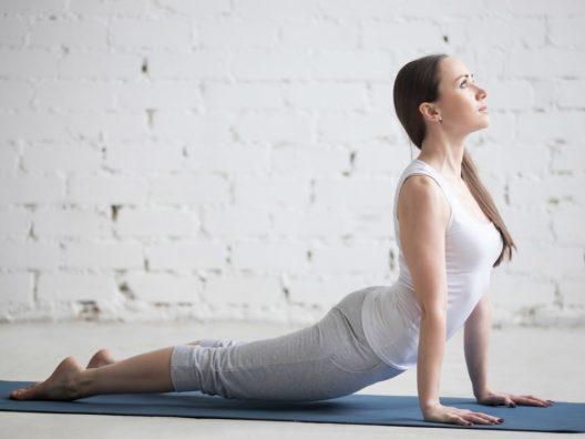 Gerakan Yoga Mengencangkan Paha 4