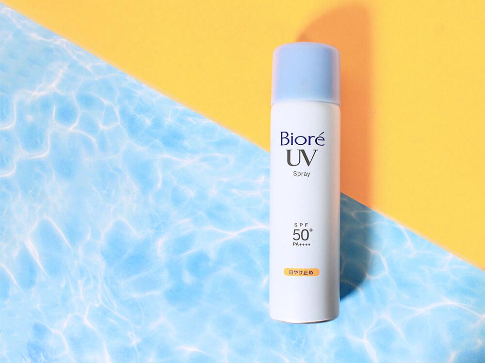 Review Biore UV Spray SPF 50+ PA++++