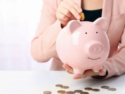 Tips Menabung Pendapatan Pas-Pasan - Cover