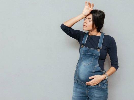 Wanita Hamil Terlalu Lama Berdiri - Cover