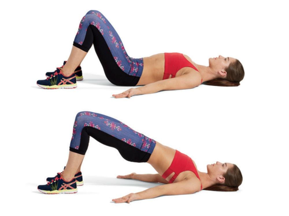Gerakan Workout Perut Rata
