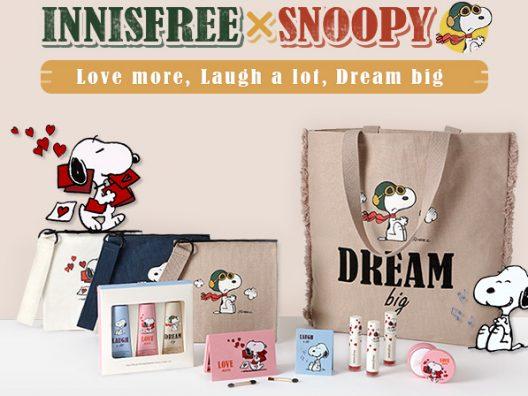 Innisfree dan Snoopy