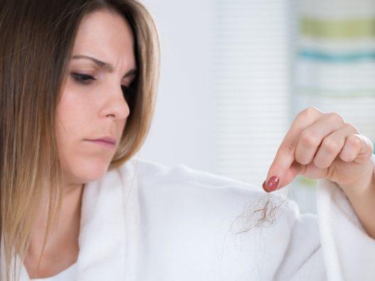 penyebab rambut rontok