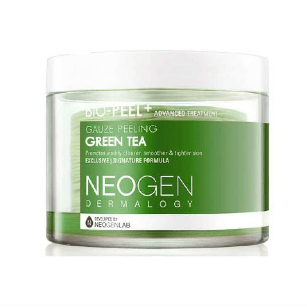 Neogen Bio Peel Gauze Peeling Green Tea Skin Care Korea Aman Kulit Sensitif