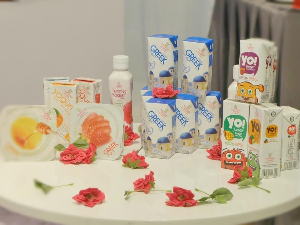 kampanye greek yogurt dari Heavenly Blush