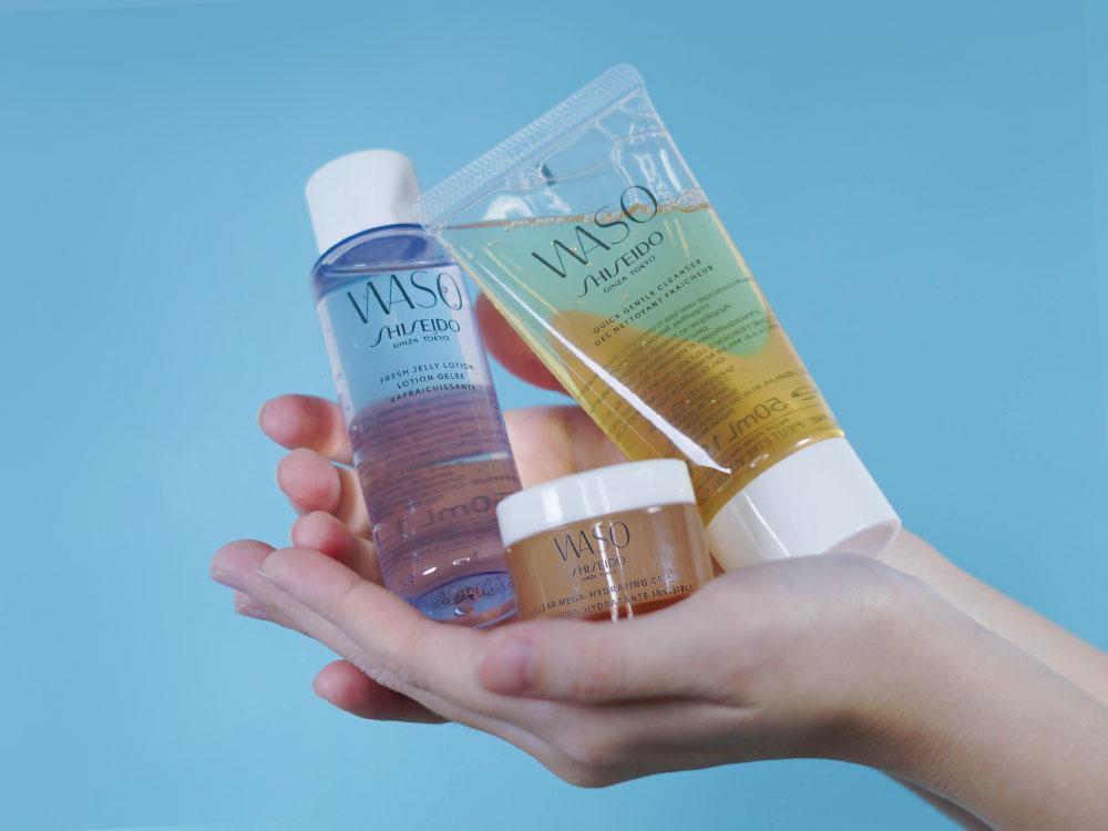 Shiseido WASO Essential Set