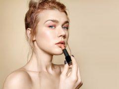 Lipstik Lokal Warna Peach