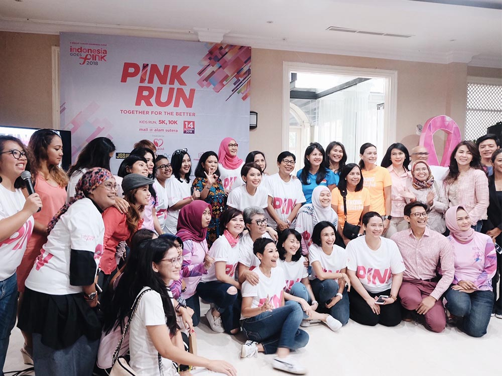indonesia goes pink 2018
