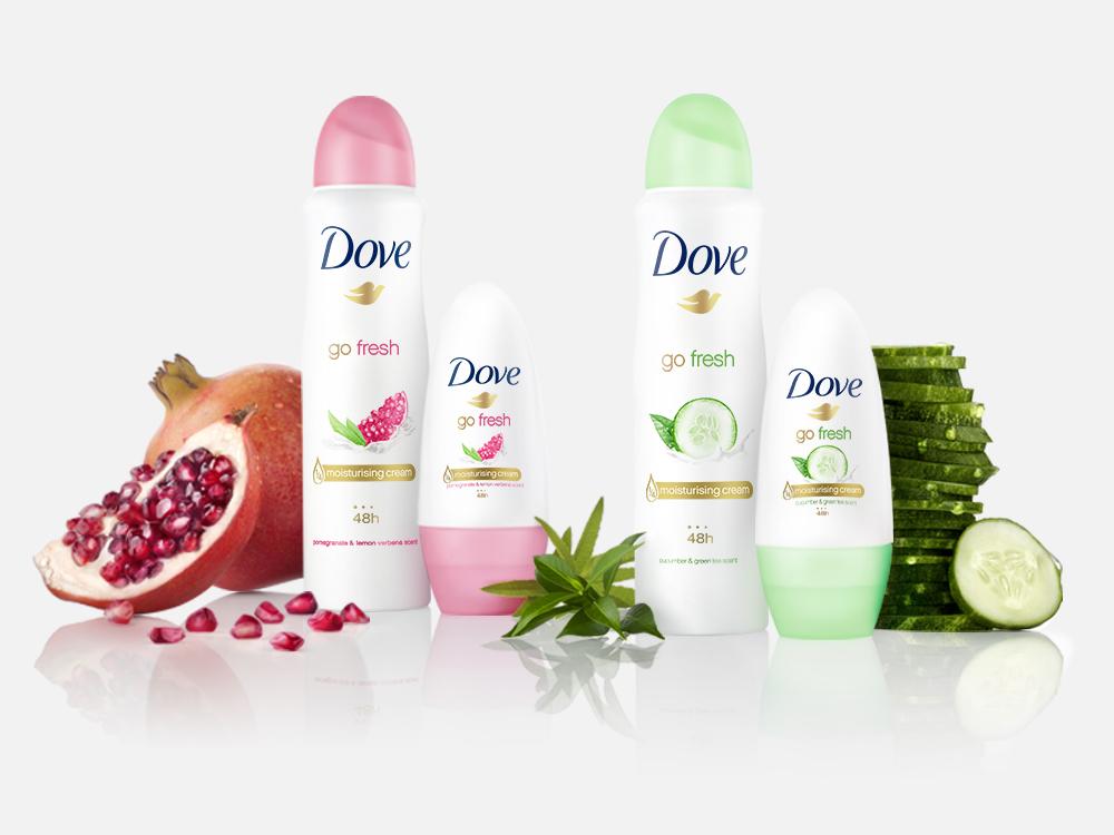 Dove Go Fresh Deodorant