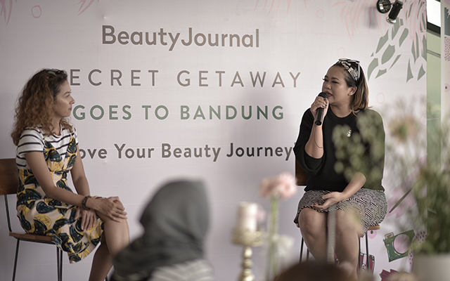 Beauty Journal Secret Getaway