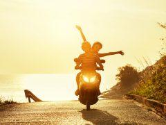 mudik menggunakan sepeda motor