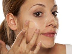 foundation enggan menempel pada kulit