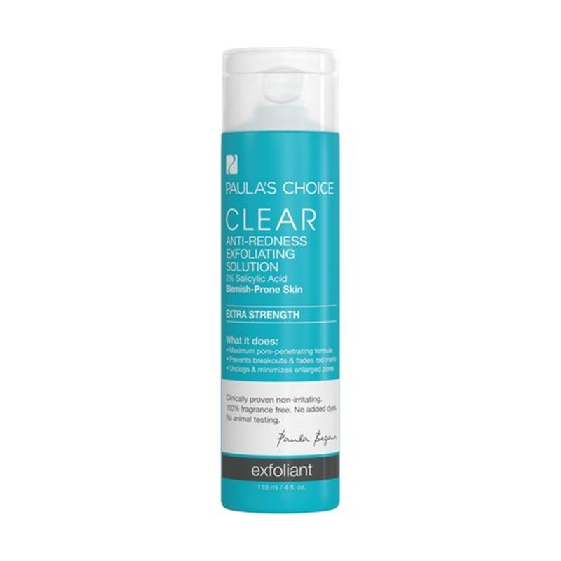 Clear Anti Redness Exfoliating Solution Percent Bha Extra Strength Rekomendasi Produk Skin Care Kandungan
