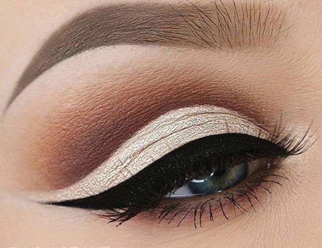 tampilan eyeshadow
