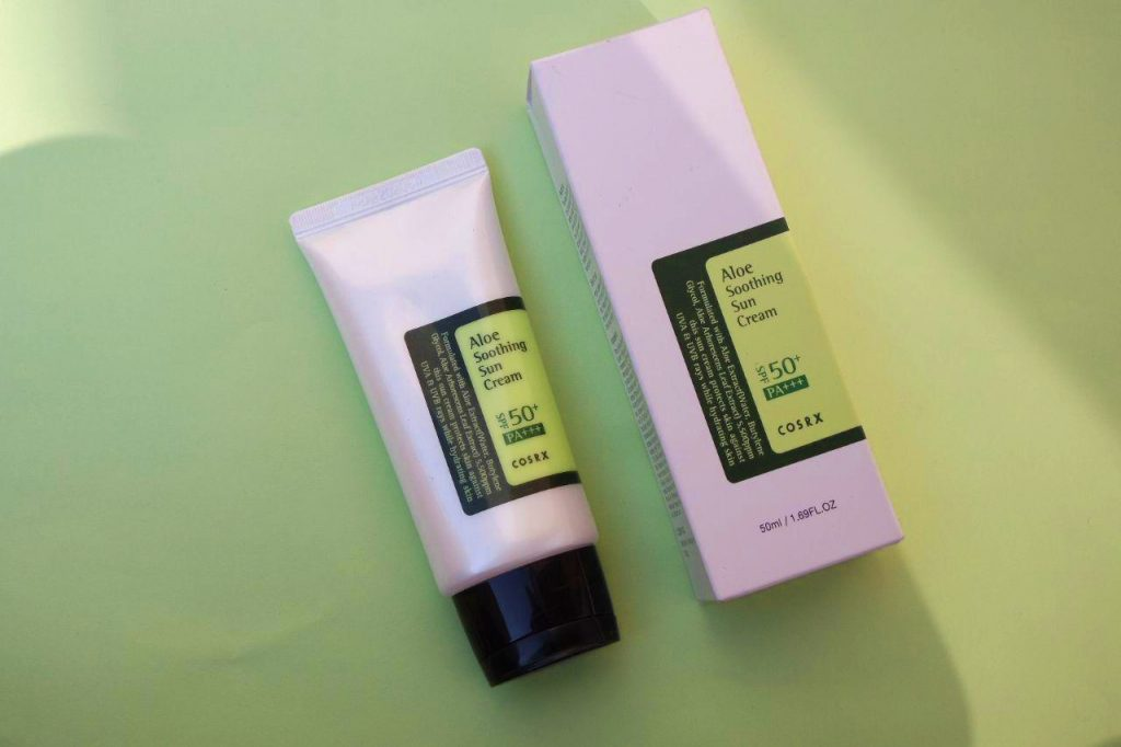 COSRX Aloe Vera Soothing Sun Cream SPF 50