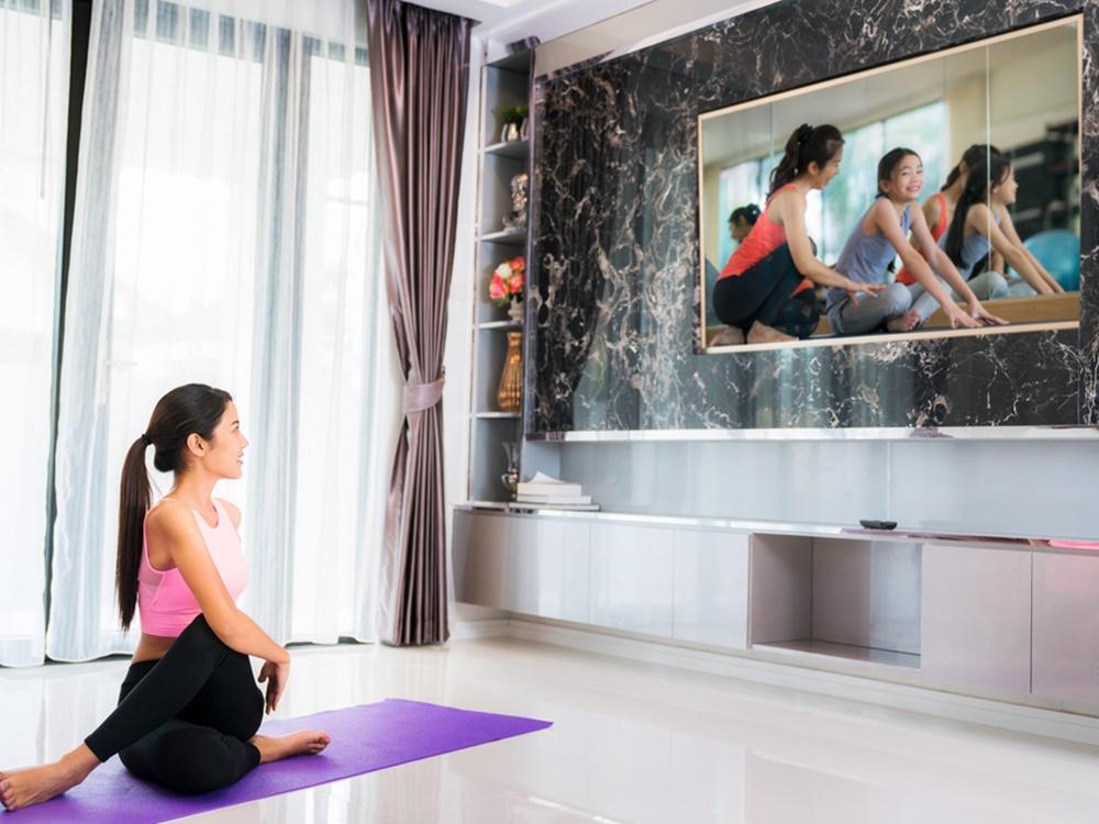 meningkatkan motivasi agar bisa rutin berolahraga