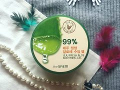 The Saem 99% Jeju Fresh Aloe Vera Soothing Gel