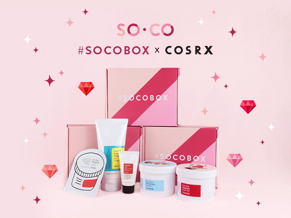#SOCOBOXXCOSRX