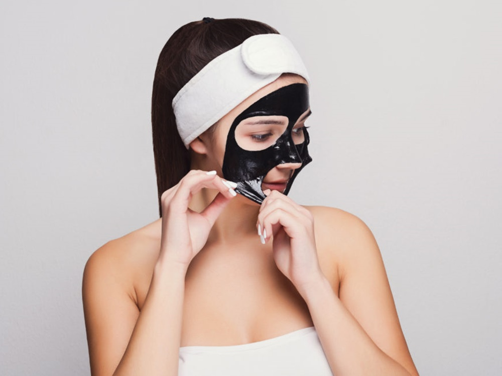 Produk Peel off Mask Lokal
