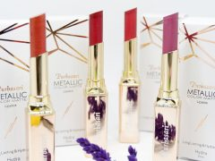 Purbasari Metallic Color Matte Lipstick