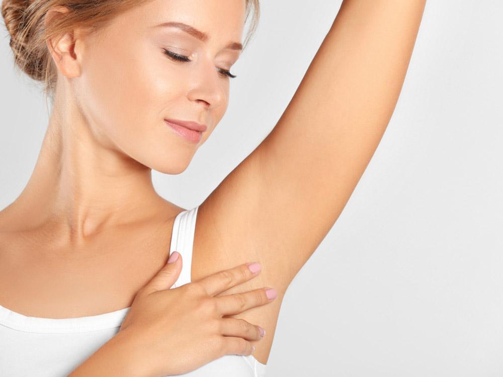 detoksifikasi kulit ketiak
