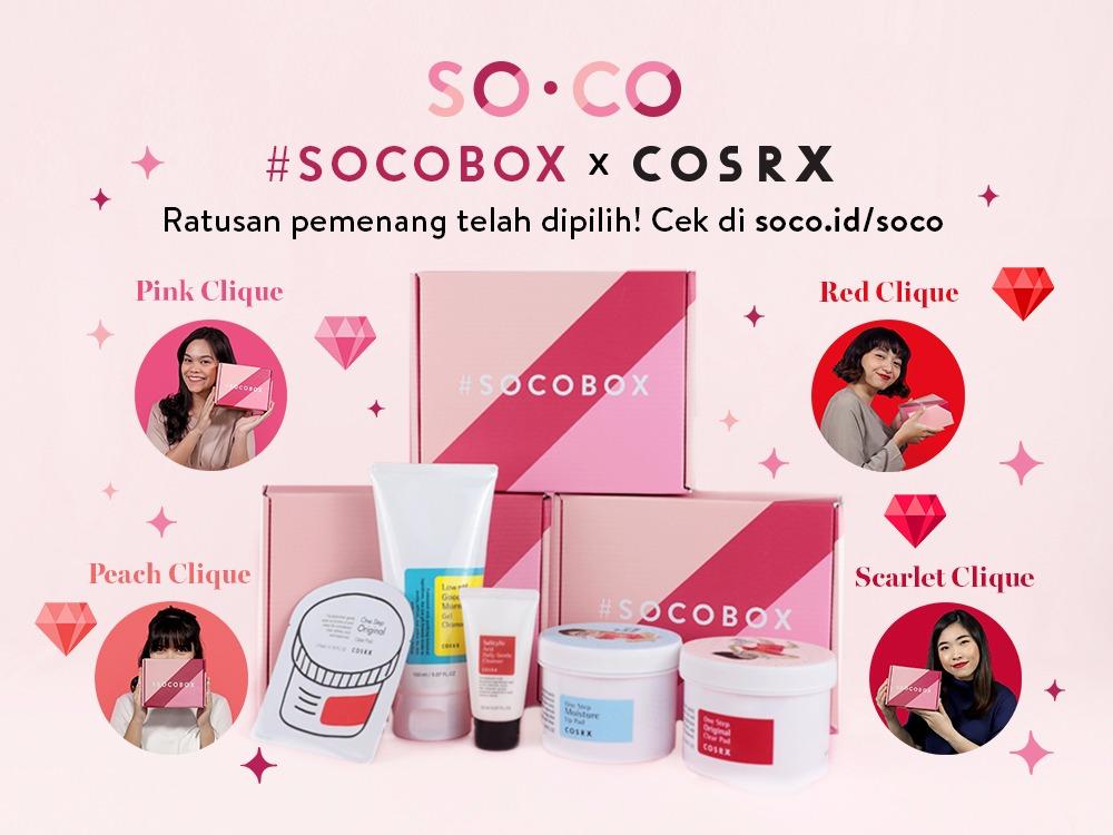 #SOCOBOXXCOSRX Periode 4