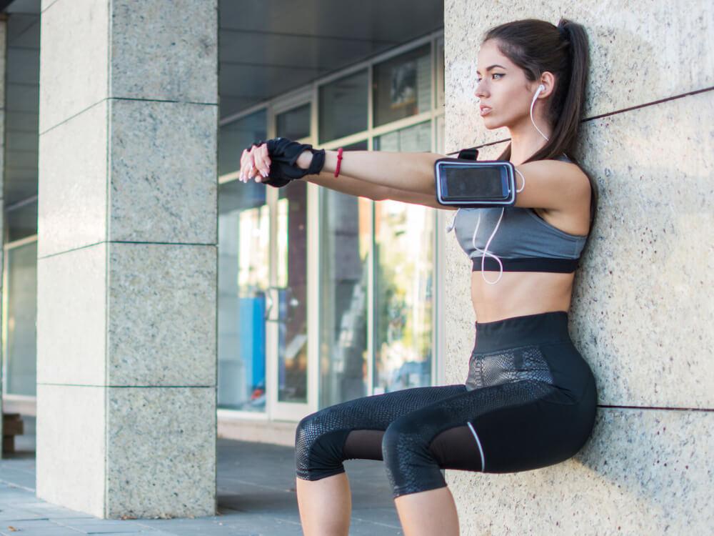 Olahraga Memanfaatkan Dinding