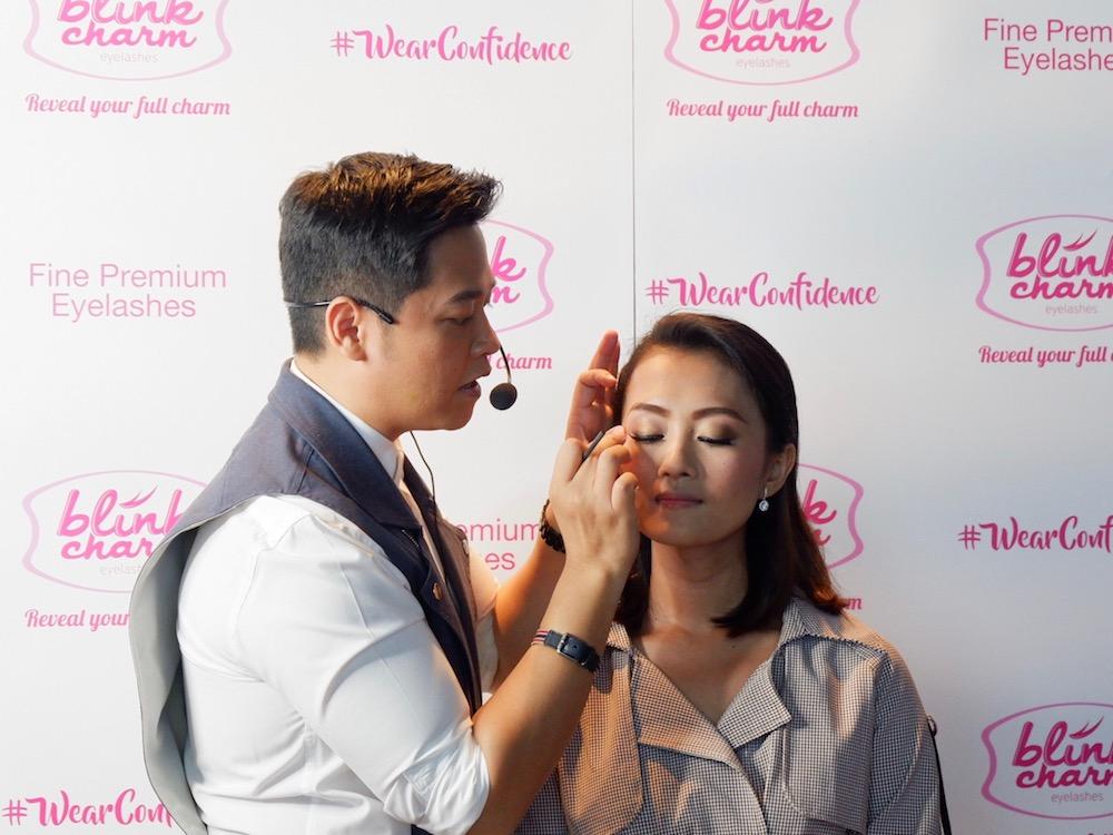 Blink Charm Makeup Class