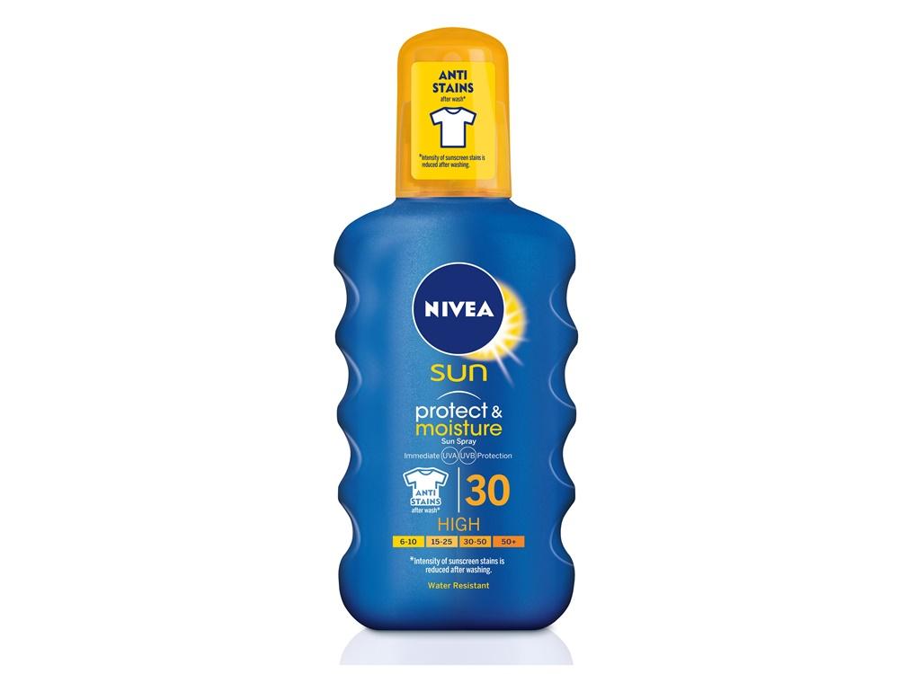 Sunscreen dengan kemasan spray