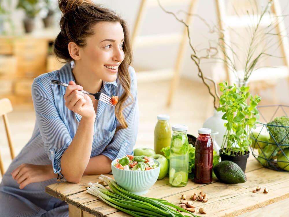 Manfaat Tubuh Vegetarian
