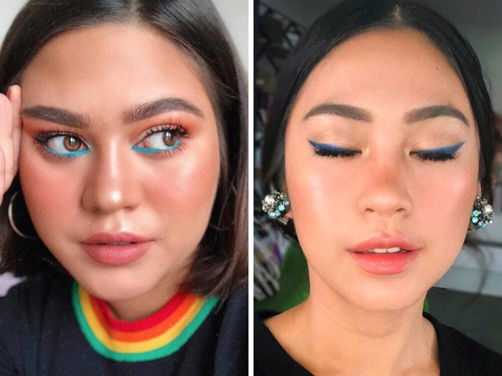 Eyeliner Biru dari Drugstore