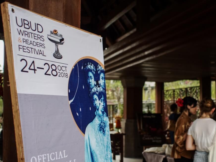 Image Credit: Anggara Mahendra   Ubud Writers & Readers Festival 2018