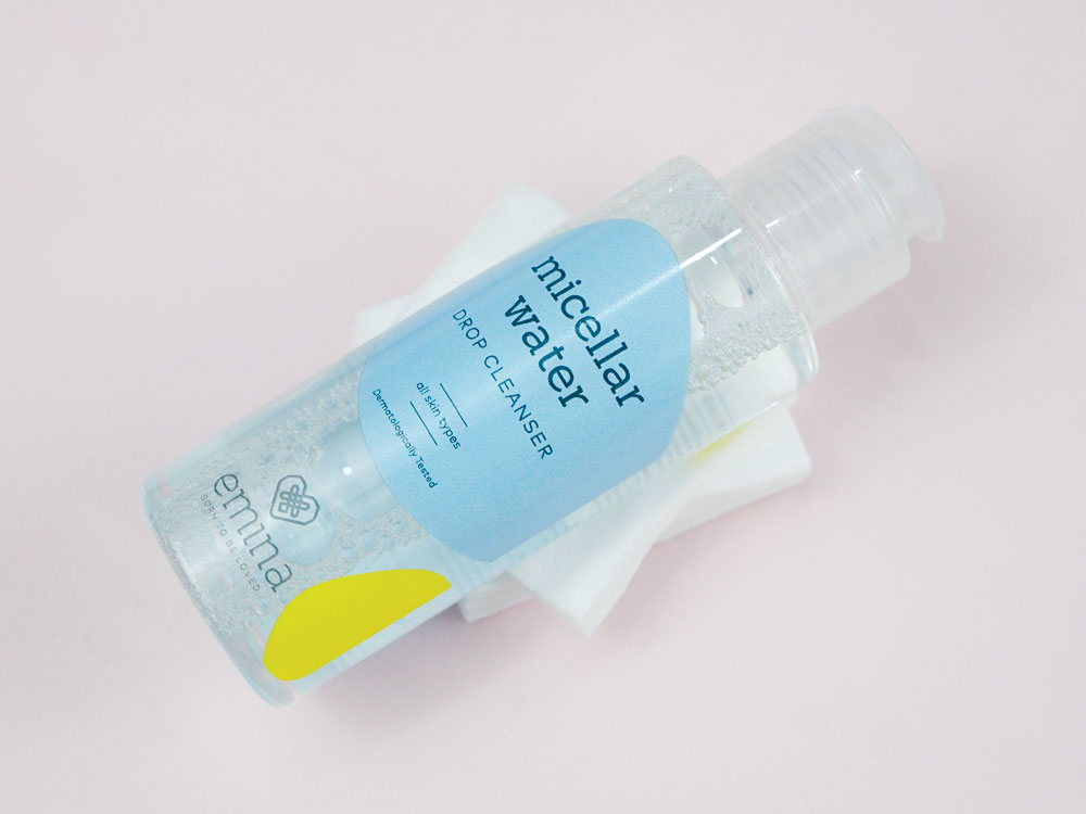 Review Emina Micellar Water Drop Cleanser